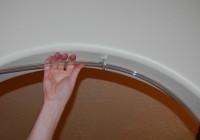 Flexible Shower Curtain Rod