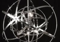 Foucault Orb Crystal Chandelier