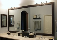 Frame Bathroom Mirror Diy