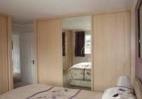 Frameless Mirror Bifold Closet Doors
