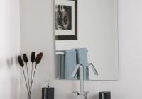 Frameless Vanity Mirrors For Bathroom