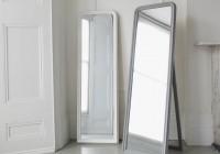 Free Standing Mirror White