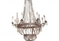 French Empire Chainmail Chandelier