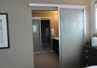 frosted glass closet doors modern
