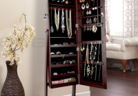 Full Length Mirror With Jewelry Storage Inside