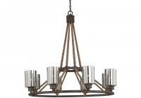 Gemini 8 Light Chandelier