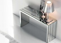 Glass Console Table Modern