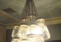 Glass Jar Chandelier Diy