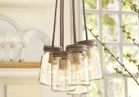 Glass Jar Pendant Chandelier