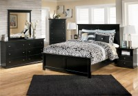 Glass Mirror Bedroom Set