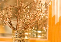 Gold Mercury Glass Vases