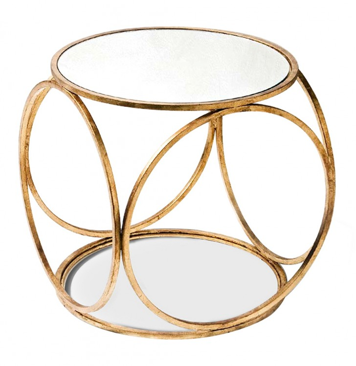 Permalink to Gold Side Table Modern