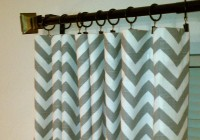 Gray And White Curtains Target