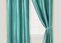 Green And Blue Window Curtains