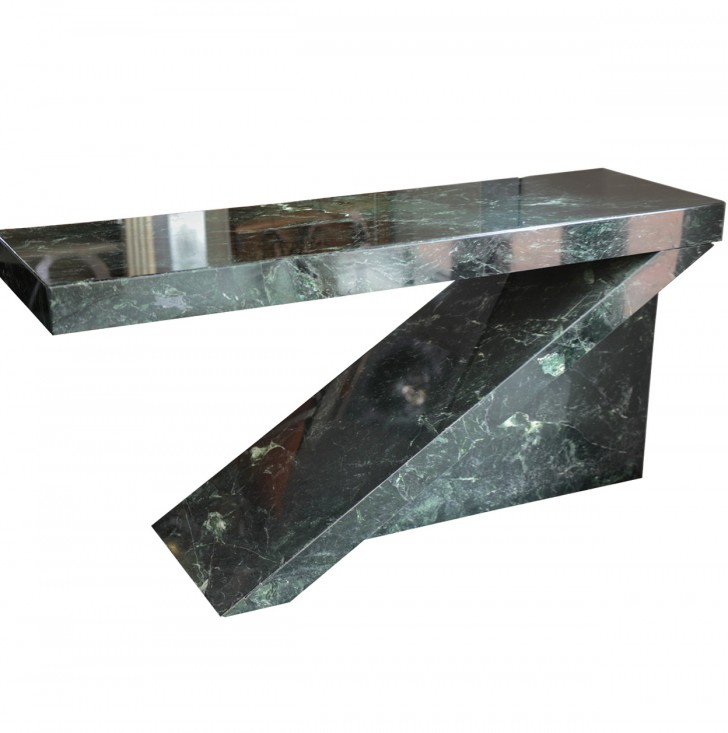 Permalink to Green Marble Console Table