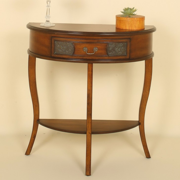 Permalink to Half Round Accent Table
