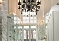 Hanging A Chandelier In A Bathroom