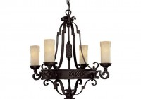 Hanging Candle Chandelier Non Electric