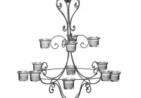 Hanging Chandelier Candle Holder
