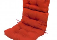 High Back Outdoor Chair Cushions