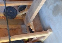 Homemade Bench Press Rack