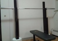 Homemade Squat Bench Rack