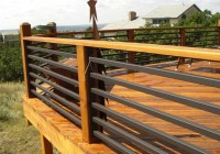 Horizontal Steel Deck Railing