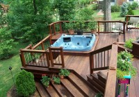 Hot Tub Decks Construction