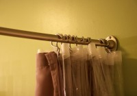Hotel Shower Curtain Rod