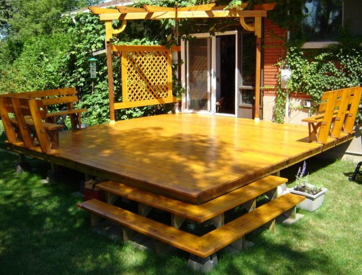 Permalink to How To Build A Freestanding Deck With A Roof