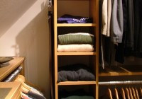 Ideas For Closets With Slanted Ceilings