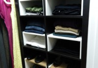 ikea hack closet storage