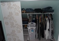 ikea panel curtain closet door