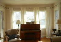 ikea ritva white curtains