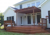 Images Of Decks With Pergolas
