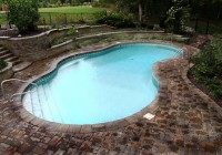 In Ground Pool Deck Ideas