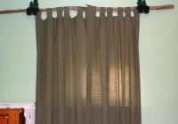 Industrial Curtain Rod Ideas