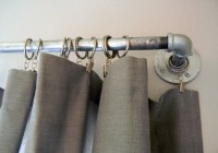 industrial curtain rods diy