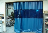 Industrial Curtain Track System