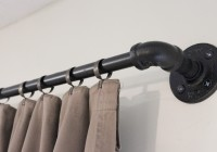 Industrial Pipe Curtain Rod Uk