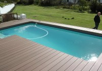 Installing Composite Decking Around Pool
