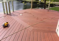 Installing Deck Boards Bark Side Up