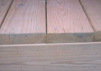 Installing Deck Boards With Crown Up