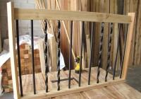Installing Deck Railing Spindles
