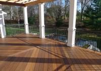ipe wood decking installation
