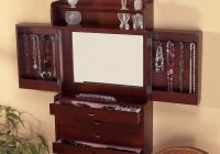 Jewelry Mirror Armoire Plans