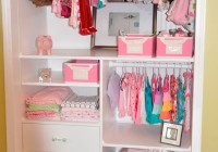 Kids Closet With Drawers