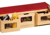 Kids Storage Bench Canada