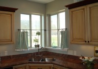 kitchen cafe curtains modern