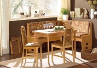 Kitchen Corner Bench And Table Set